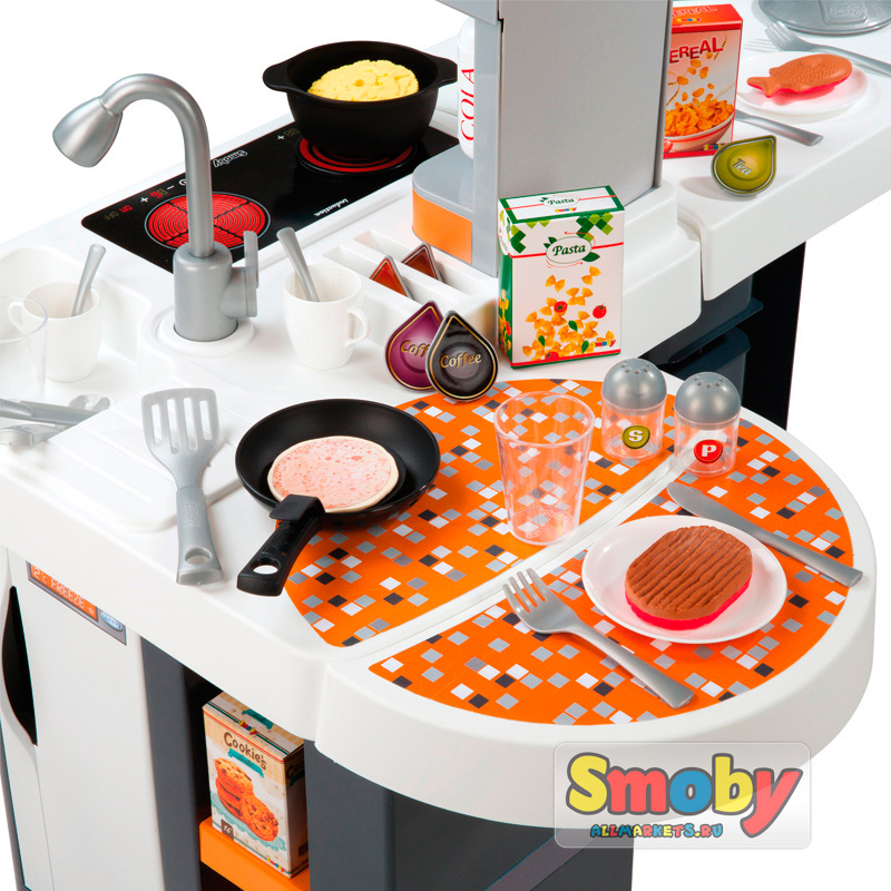 Smoby tefal cuisine studio xl smoby for Cuisine tefal smoby